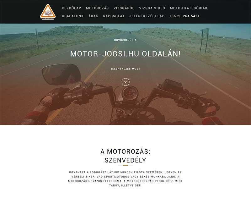 Motor Jogsi honlap