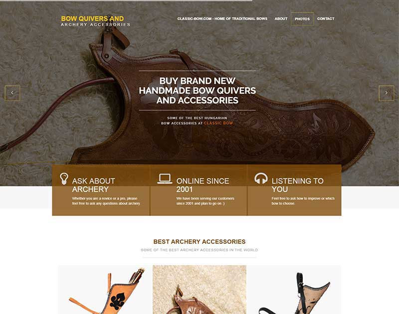 Bow Quiver homepage