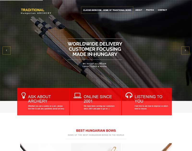 Hungarian Bow homepage
