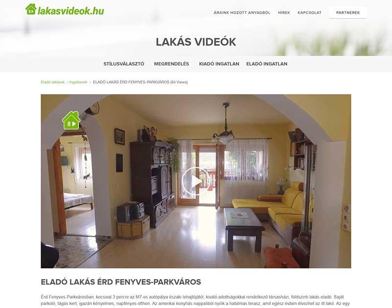 Lakásvideó teljes oldal