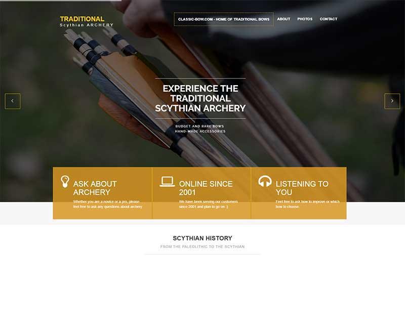 Scythian Bow homepage
