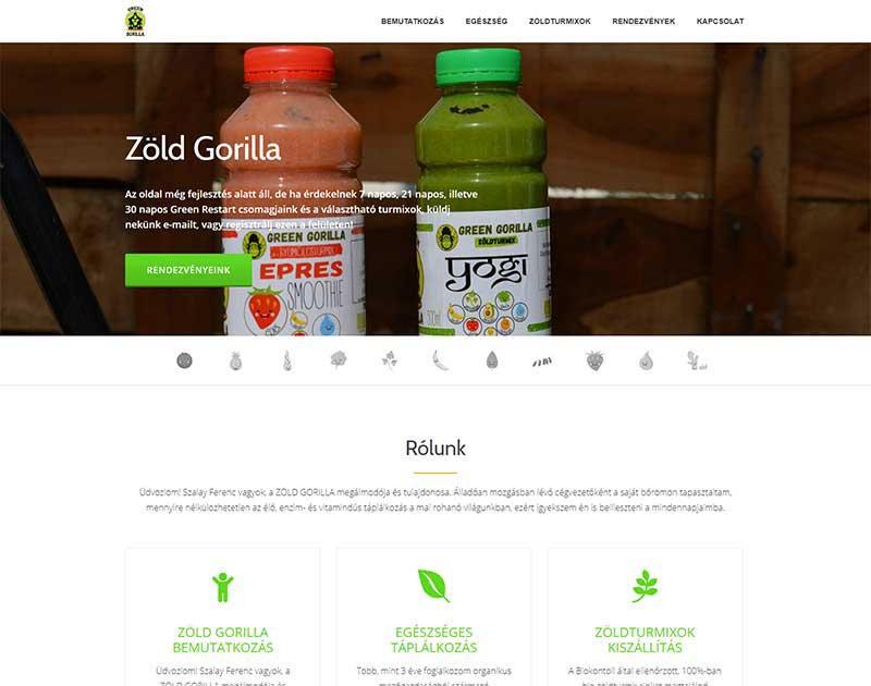 Zöld gorilla honlap